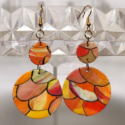 Red Orange Mozaics