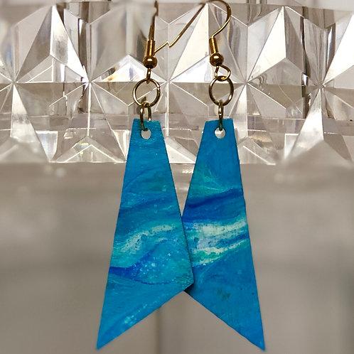 Shades of Blu Triangles