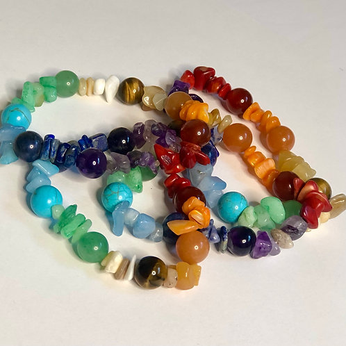 Chakra Crystal Bracelet