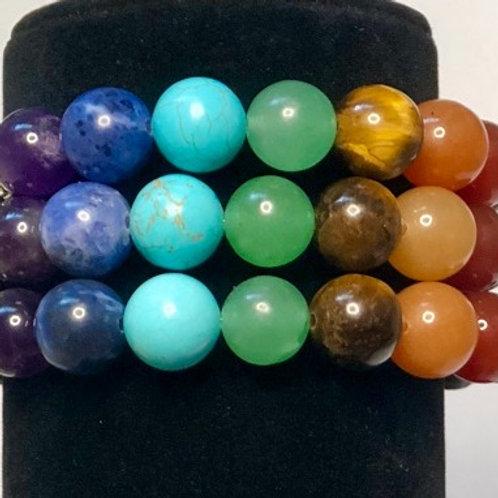 7 Crystal Chakra Bracelet