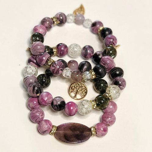 Pynkish Charm Bracelet Set