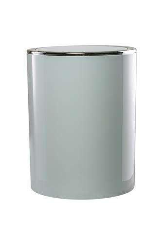 פח אשפה 6 ליטר NOVARA לבן