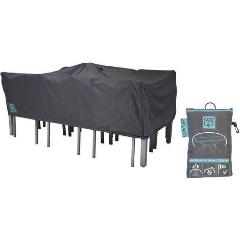 כיסוי לשולחן גינה וכיסאות אורך 180 סמ