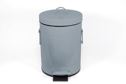 פח רטרו 3 ליטר בצבע אפור