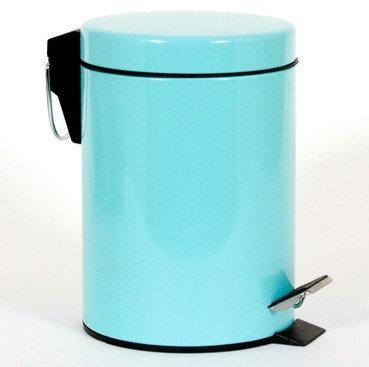 פח רטרו 3 ליטר בצבע תכלת