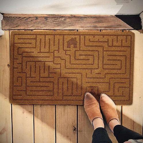 שטיח לכניסה מבוך