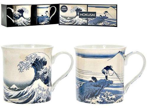 מארז זוג ספלי הוקוסאי Hokusai