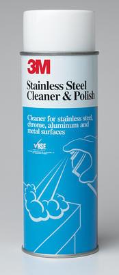 3M חומר לניקוי נירוסטה Stainless steel cleaner & polish