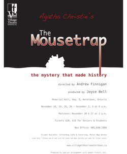 The Mousetrap poster