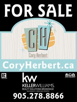 Cory Herbert Sign