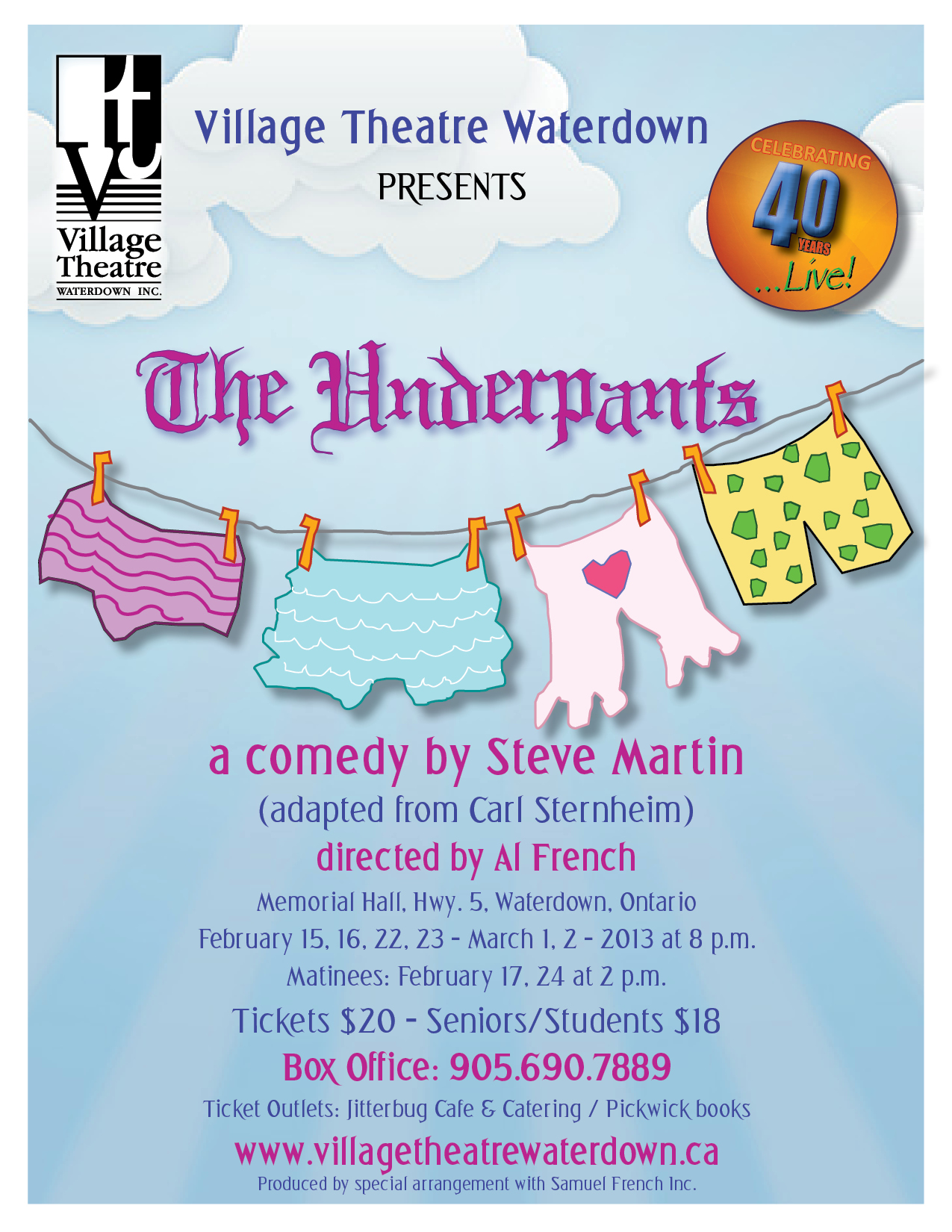 The Underpants - Village Theatre