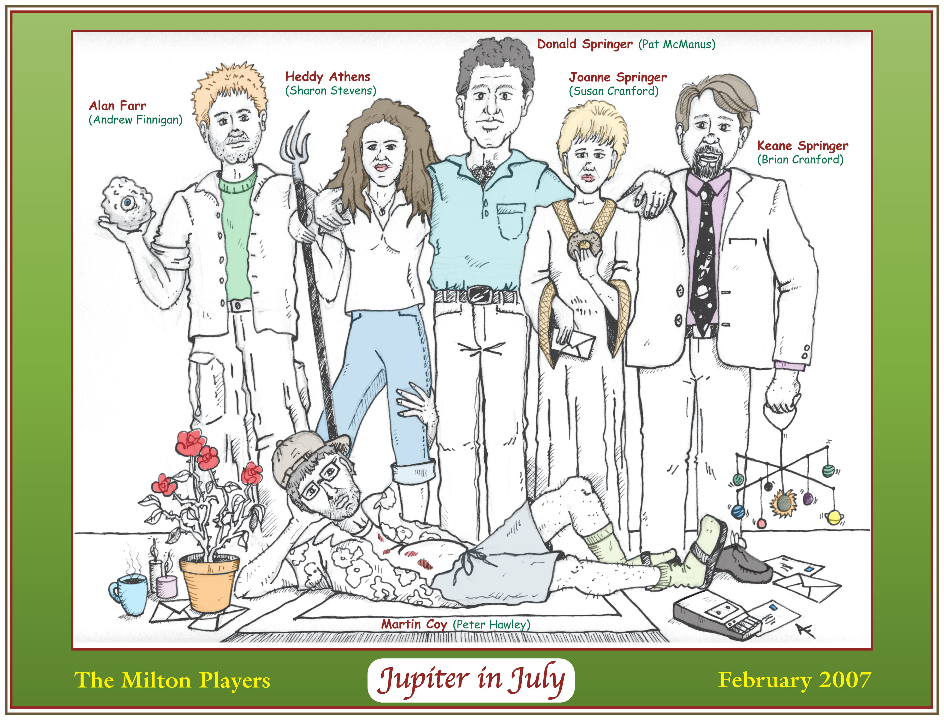 Jupiter in July - Milton Players
