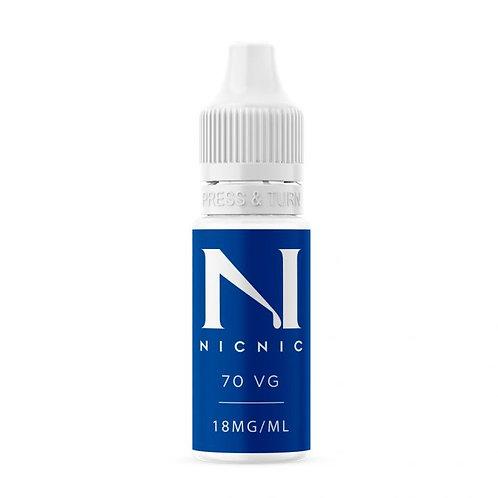Nic Nic Nicotine Shot 18mg 10ml 70vg/30pg
