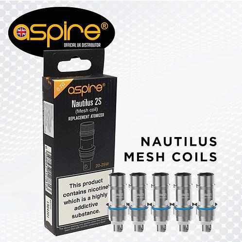 Aspire Nautilus 2S Mesh Replacement Coils 0.7ohm