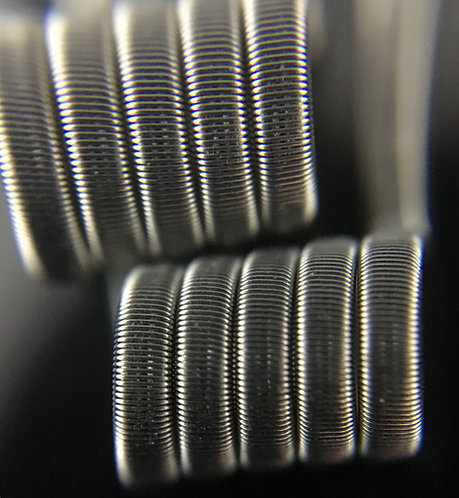 2 x Fused Clapton Coils