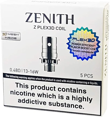 Innokin Z Plex3D Coil 0.48 ohm Replacement Coils Pack of 5