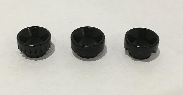Black Aluminium Drip Tips