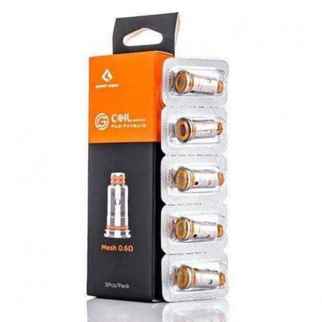 Geek Vape G Coil Replacement Mesh 0.6 ohm Pack of 5 Coils