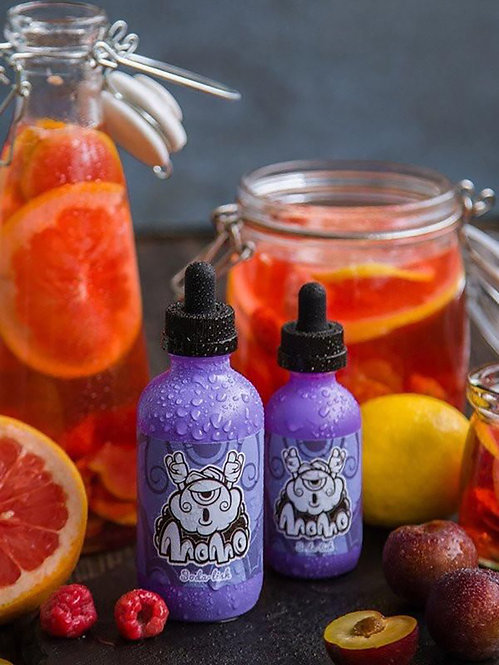 Soda-lish by MoMo Rasberry Grapefruit Plum Lemonade eliquid
