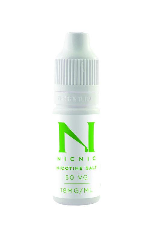 Nic Nic Salt Nicotine Shot 20mg 10ml