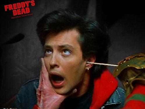 AUTOGRAPH - Freddy's Dead 8x10  (QTIP scene)