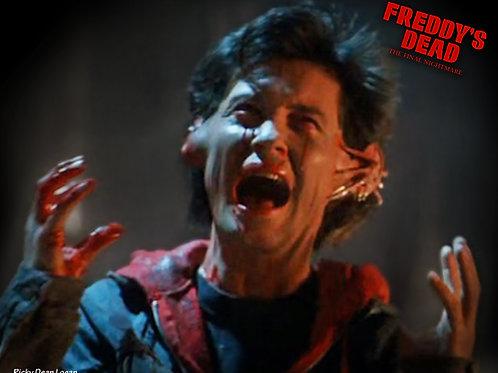 AUTOGRAPH - Freddy's Dead 8x10 death scene 1