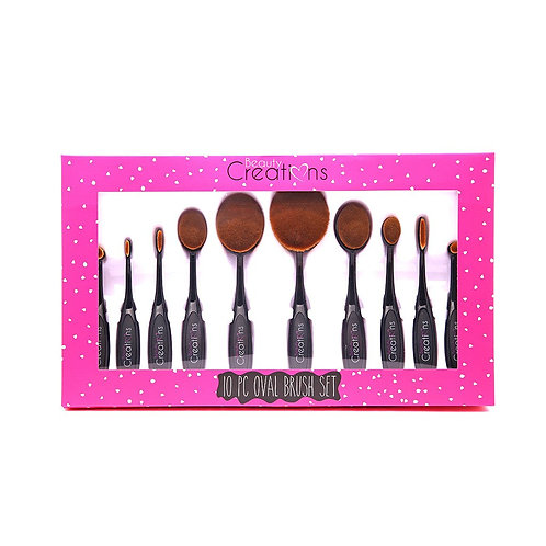 BEAUTY CREATIONS - Oval Brush Set