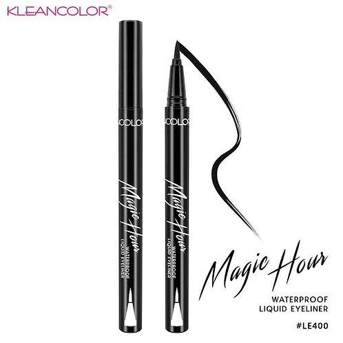 KLEANCOLOR - Delineador Magic Hours MATTE WATERPROOF