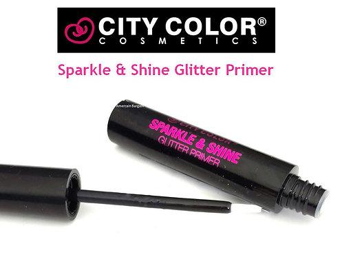 CITY COLOR - Glitter Primer adhesivo