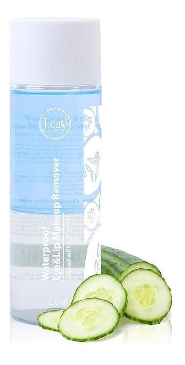 JCAT - Removedor de maquillaje ojos y labios waterproof