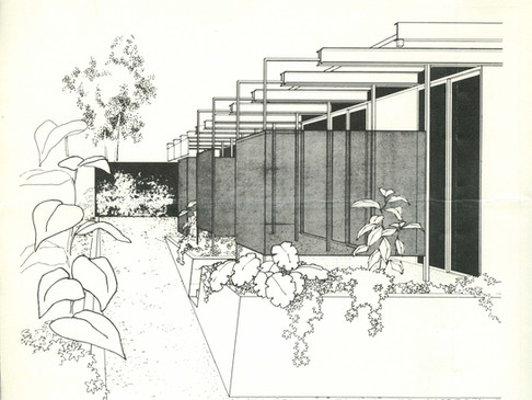 "Grossman Residence, ""El Paradiso', 1964"