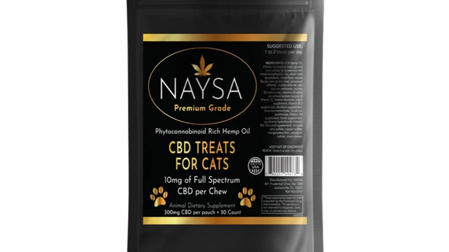 CBD Treats for Cats - NAYSA - 10mg - 30 count