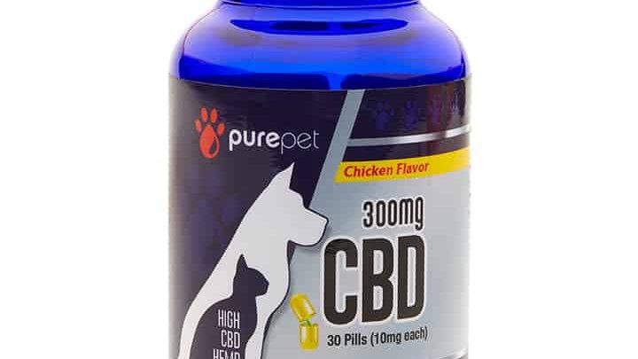 PURE PET – CBD CAPSULES (300MG)