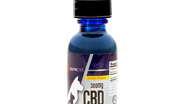 PURE PET – CBD TINCTURES 300MG - 1,800MG (SMALL TO LARGE PETS)