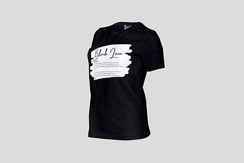 """""""Black Love"""" Branded Women's T - Shirt"""