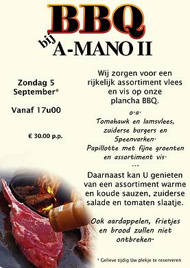 BBQ bij A-Mano II 5 september