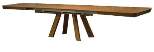 שולחן פתיחת אמצע רגליים קבועות