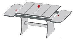 אילוסטרציה שולחן פתיחת אמצע