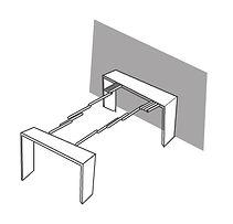 אילוסטרציה של שולחן קונסולה