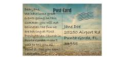 postcard summer