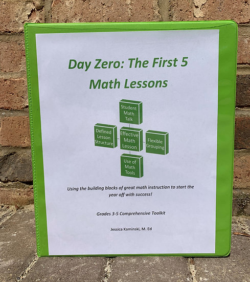 Digital Homeschool Day Zero: The First 5 Lessons Grades 3-5