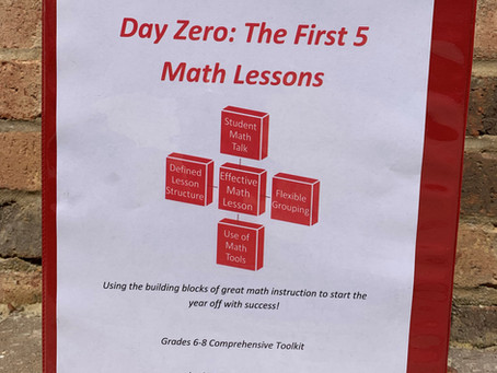 Math: Start the Year Off the Right Way