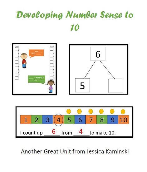 Developing Number Sense to 10 Resource Bundle
