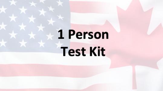 1 Person - Covid-19 PCR Saliva Test