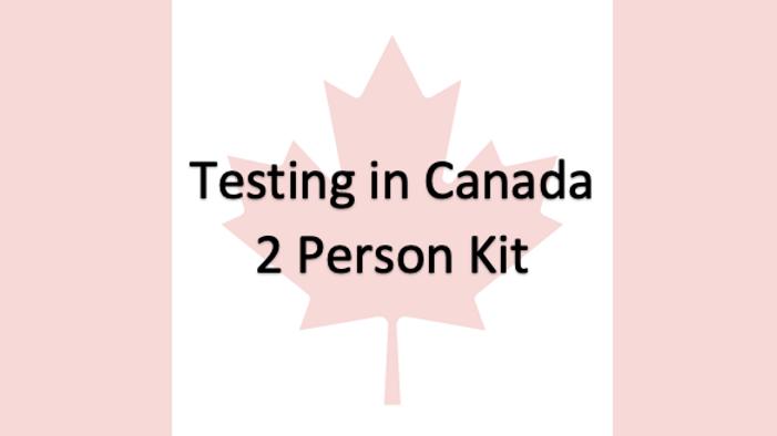 2 People - Covid-19 PCR Saliva Test in Canada