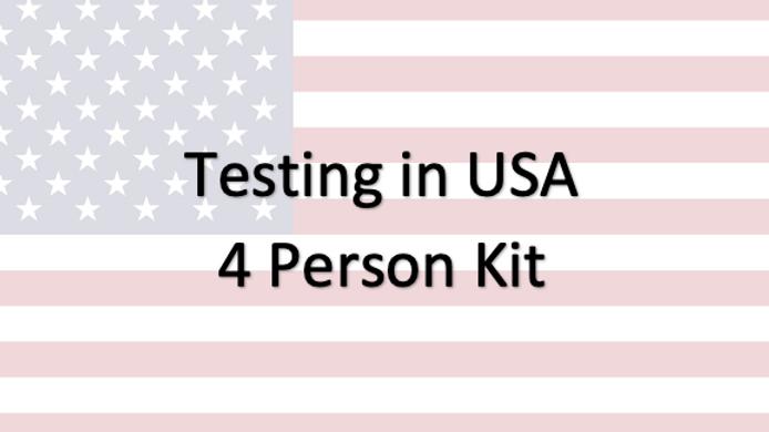 4 People - Covid-19 PCR Saliva Test