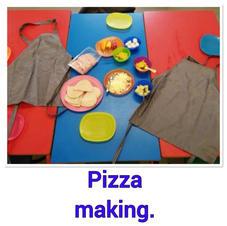 Pizza Making ...mmmm!