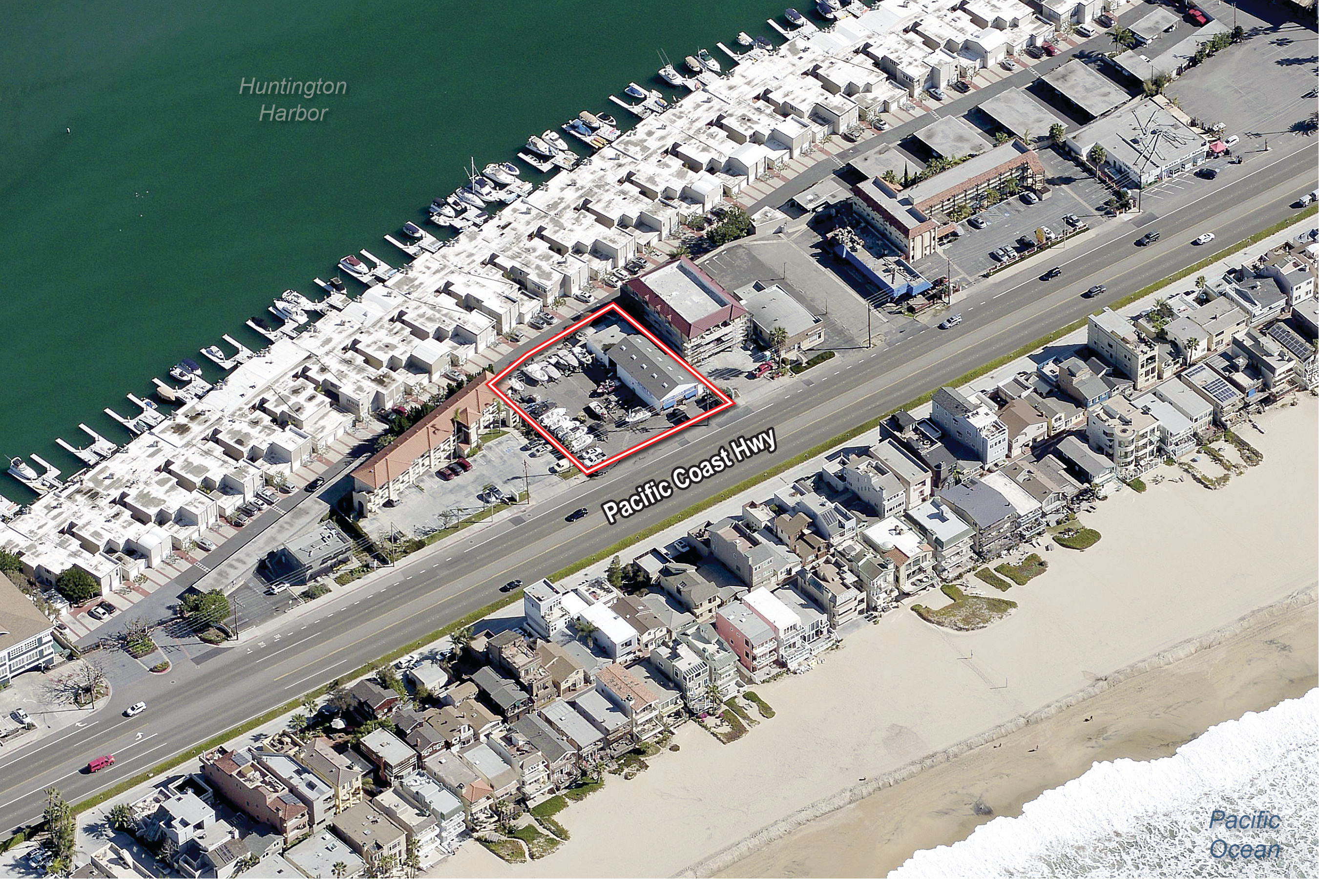 16214 Pacific Coast Highway Aerial