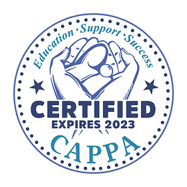 CAPPA-CERTIFIED (1) childbirth educator.