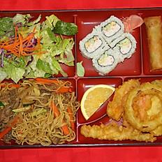 Beef Yakisoba Bento Box